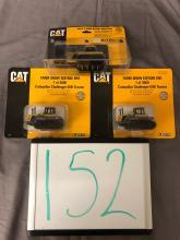Lot 152: (3) 1/64th Scale Caterpillar Tractors