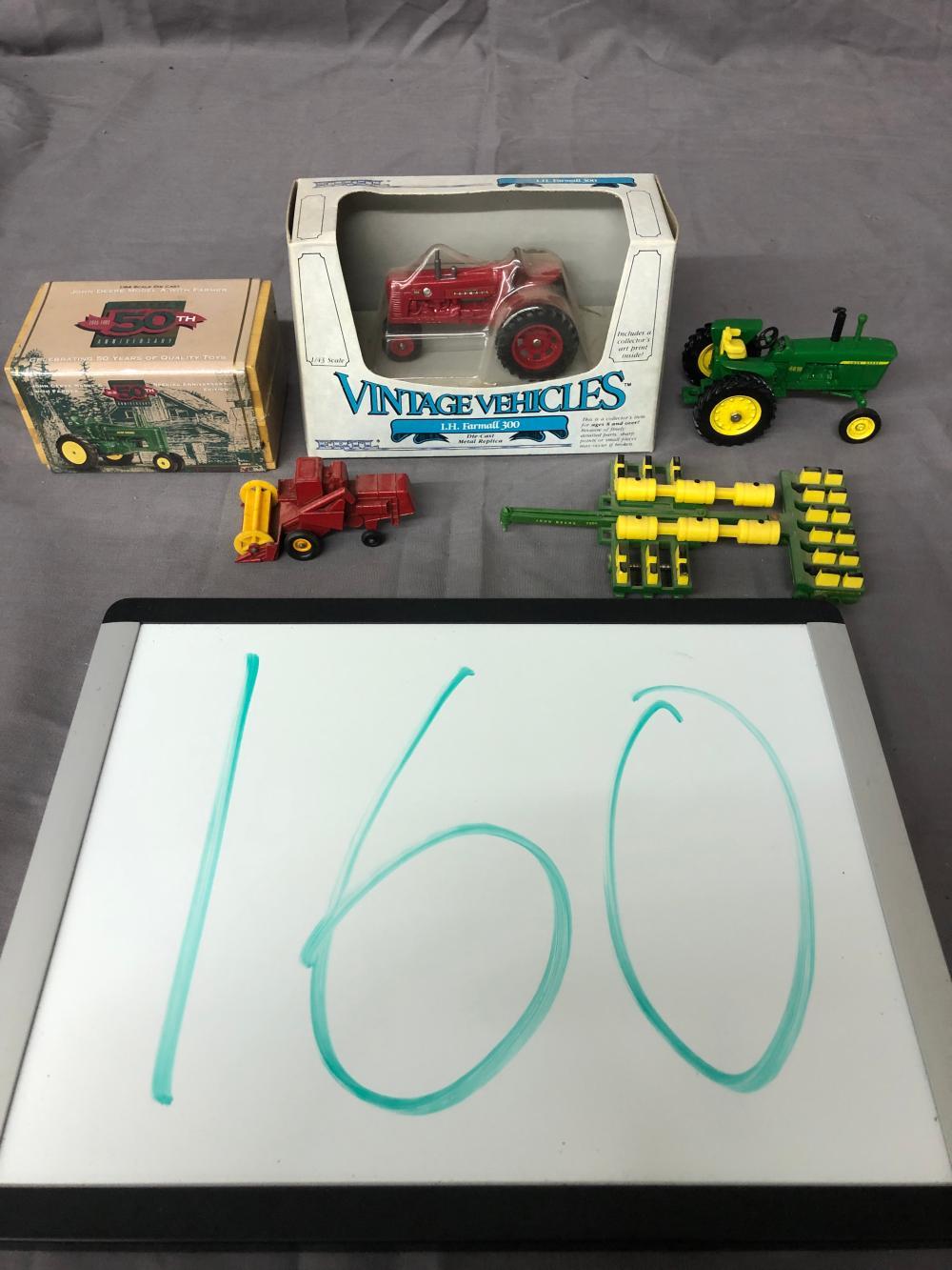 Lot 160: (5) Misc. Farm Toys