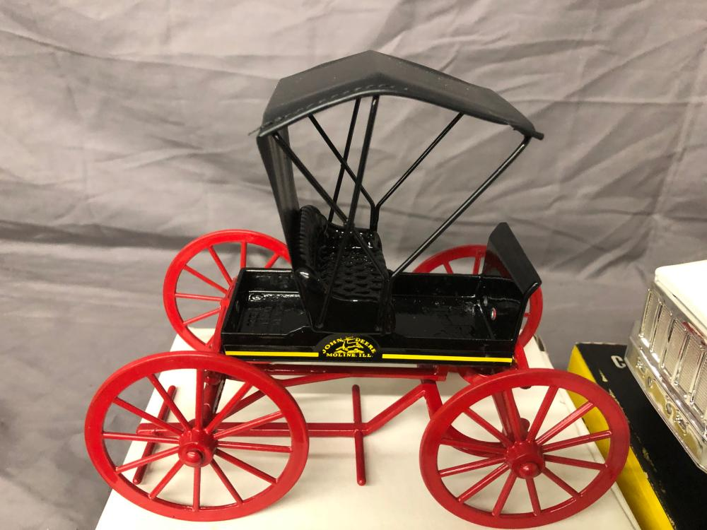 Lot 166: (4) Miniature Vehicles