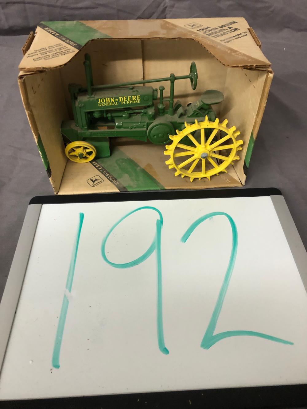 1/16th Scale John Deere Model A