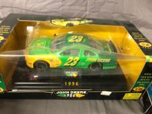 Lot 189: (5) Chad Little - John Deere NASCAR Cars