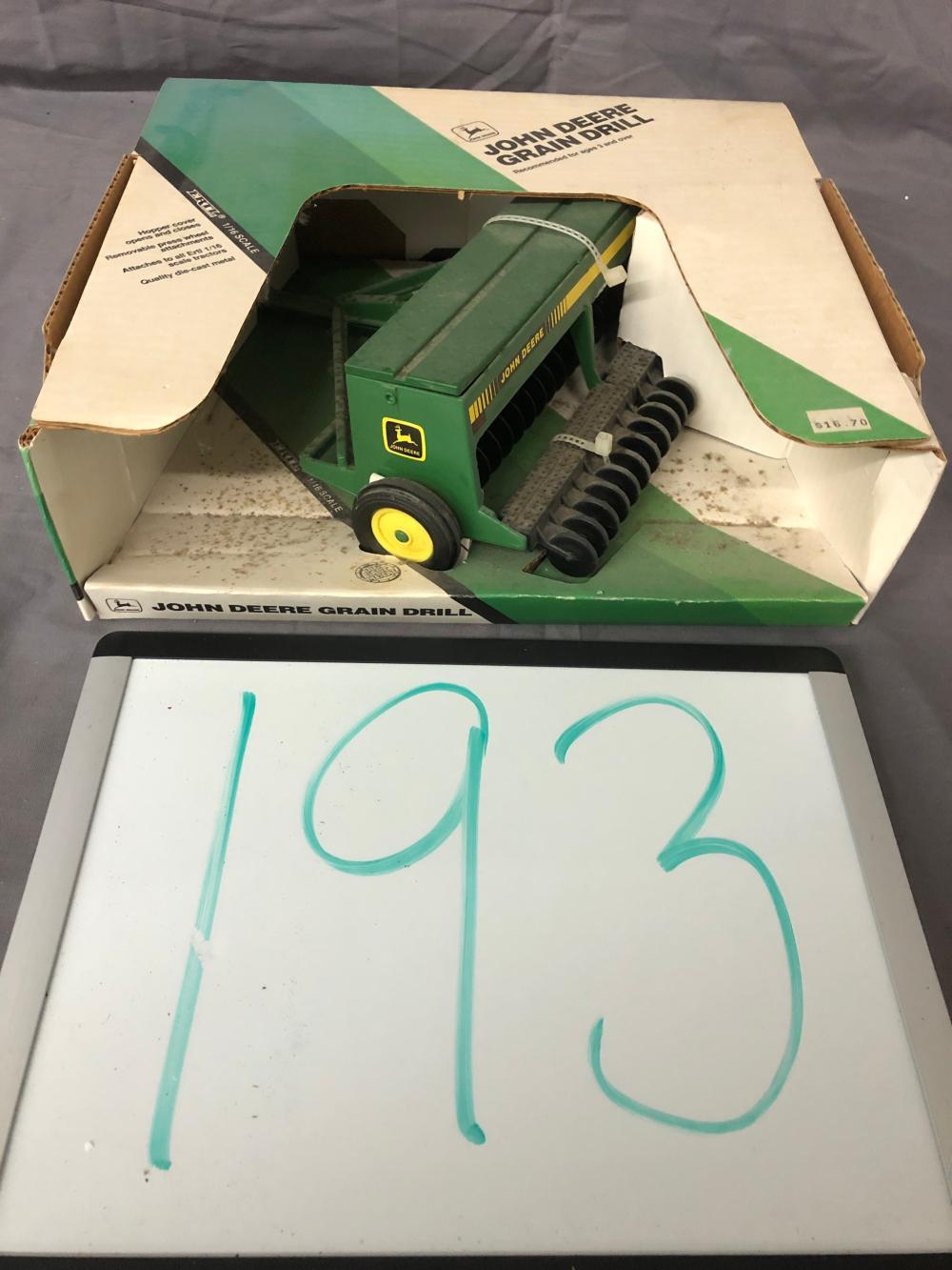 1/16th Scale John Deere Grain Drill