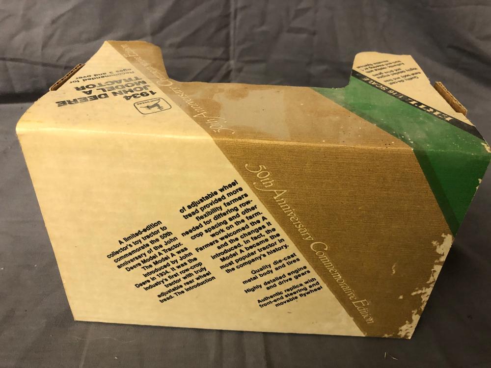 Lot 192: 1/16th Scale John Deere Model A