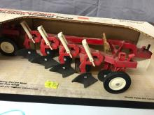 Lot 205: 1/16th Scale International 4-Bottom Trailing Plow