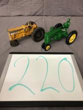 Lot 220: John Deere & Minneapolis Moline Tractors