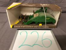 Lot 226: 1/16th Scale John Deere 12A Combine