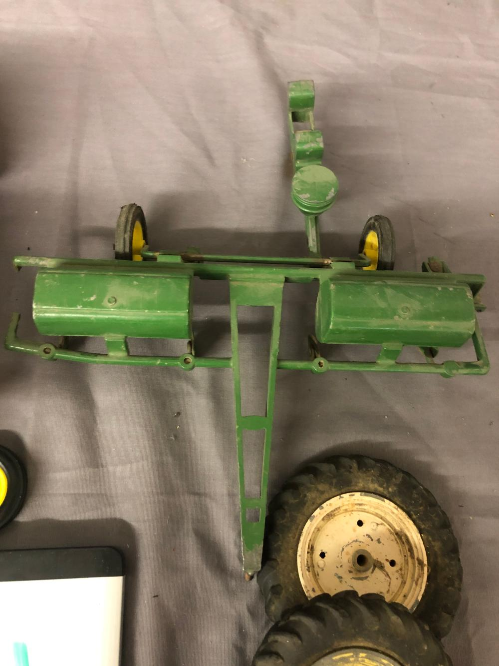Lot 234: Misc. Farm Toy Parts & Pieces