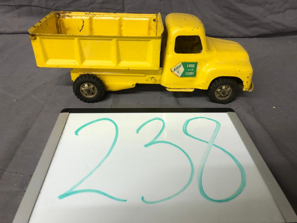 Lot 238: Buddy L Sand and Stone Truck