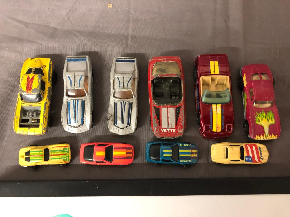 Lot 244: G.I. Joe & Hotwheels Cars