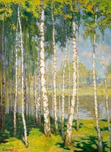 Alois Kalvoda - Birch Wood