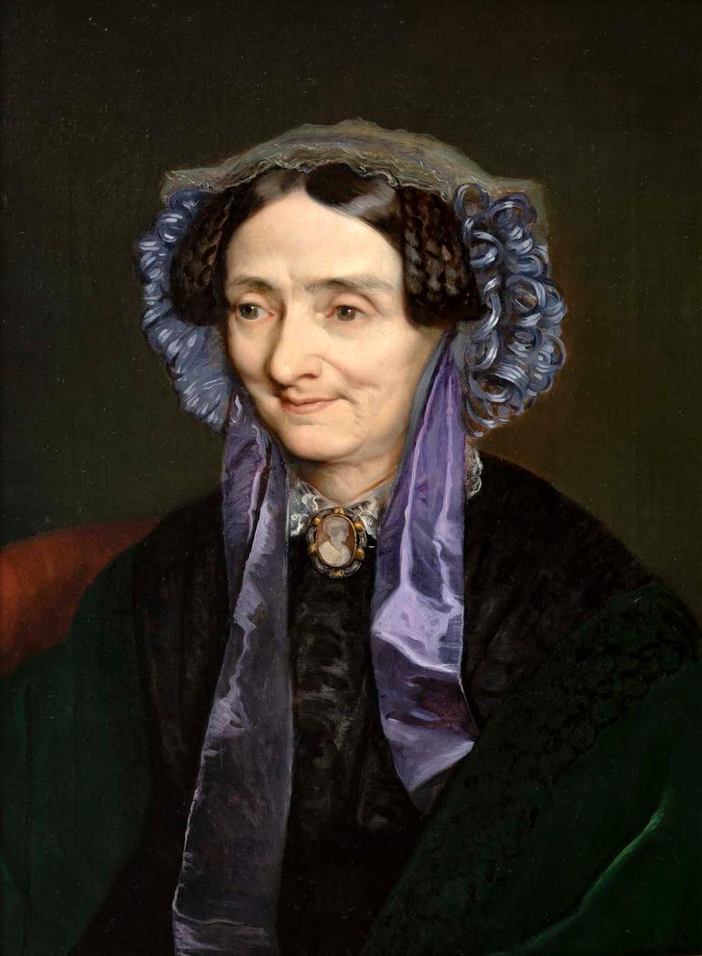 Josef Mánes - Portrait of Mrs. Kleblat