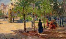 Alois Kalvoda - Parisian park