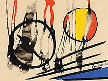 Alexander CALDER (1898-1976)  BURNING DISCS