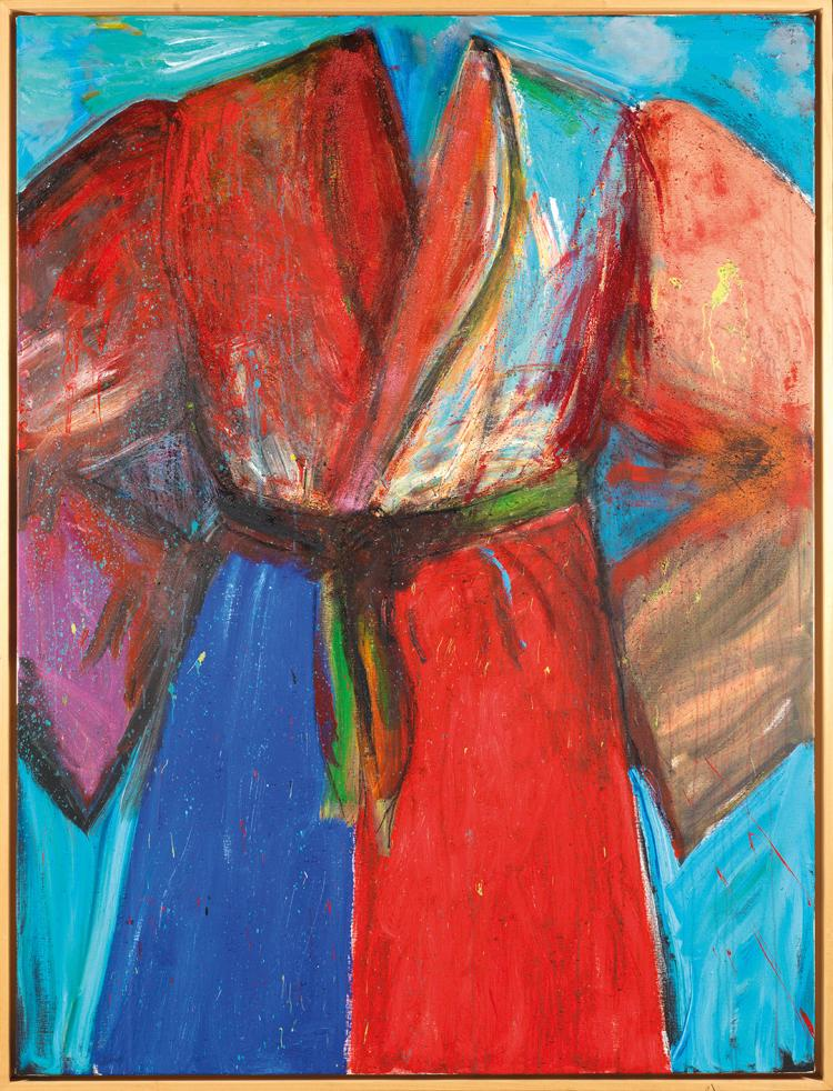 Jim DINE (né en 1937)  A SEA OF BLOOD
