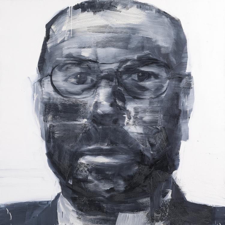 YAN PEI-MING (né à Shanghai, 1960)   PORTRAIT DE FRANCOIS NOEL, 1992-1993