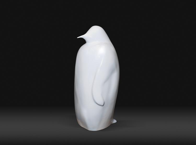 Joël ROUX (né en 1948) PINGOUIN BLANC  2015