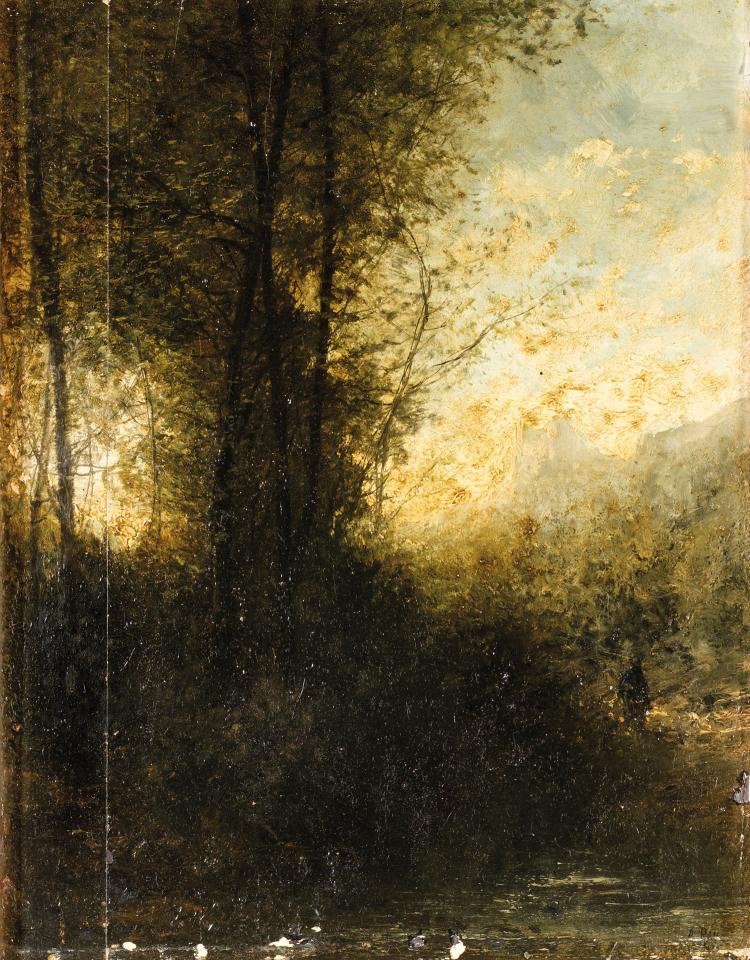 Anatole Paul RAY (XIXe siècle)  SOUS-BOIS