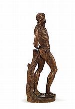SAINT SÉBASTIEN Attribué à Alessandro VIITTORIA (Trente, 1525 - Venise, 1608)