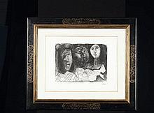 LA CHUTE D'ICARE, 1968 Lithographie Signé dans la
