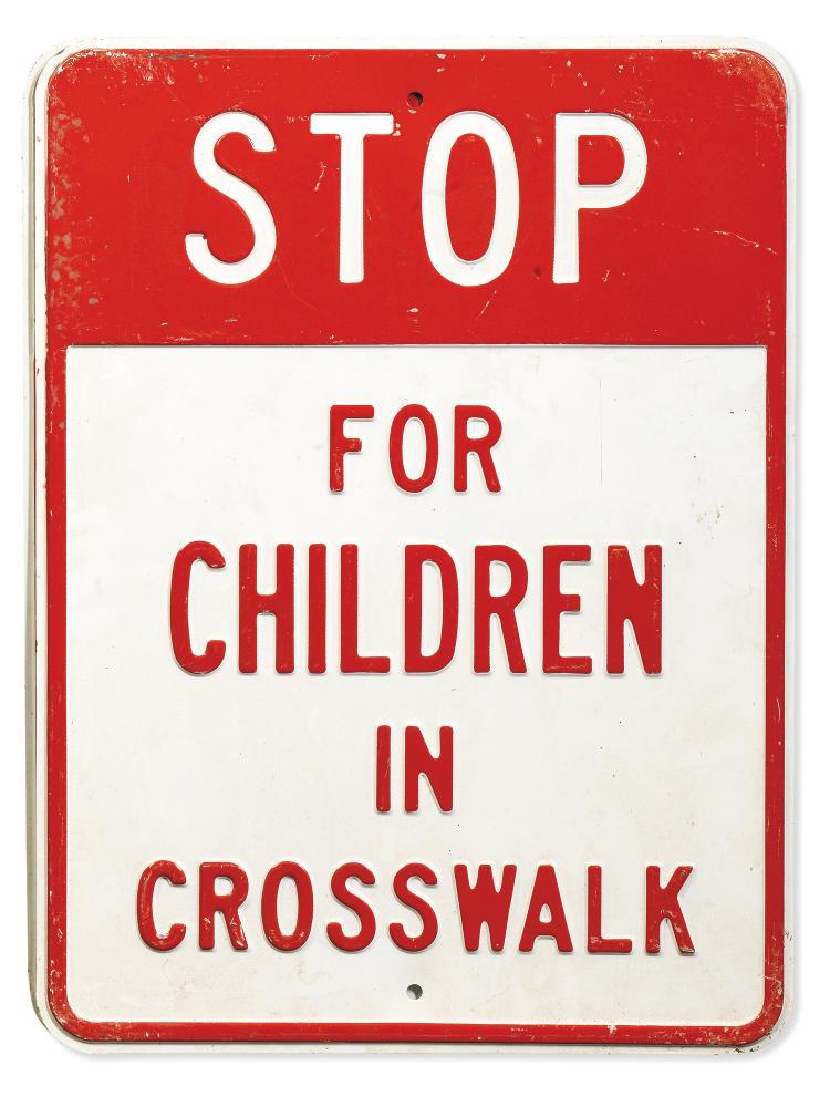 plaque stop children panneau de signalisation annon ant. Black Bedroom Furniture Sets. Home Design Ideas