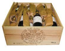 CHÂTEAU D'YQUEM <br> 1948 <br> 12 bouteilles <br> Caisse bois d'origine* <b