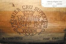 CHÂTEAU D'YQUEM <br> 2002 <br> 6 magnums <br> Caisse bois d'origine* <br> B