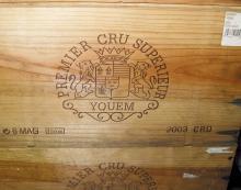 CHÂTEAU D'YQUEM <br> 2003 <br> 6 magnums <br> Caisse bois d'origine* <br> B