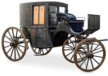 VOITURE HIPPOMOBILE «CLARENCE»  XIXe siècle