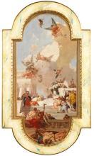 ÉCOLE VÉNITIENNE DU XIXe SIÈCLE Suiveur de Giambattista TIEPOLO (Venise, 1696 – Madrid, 1770)