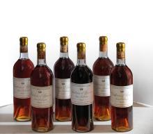 CHÂTEAU D'YQUEM 1947 6 bouteilles Reconditionnées au château