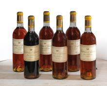 CHÂTEAU D'YQUEM 1959 12 bouteilles Caisse bois d'origine