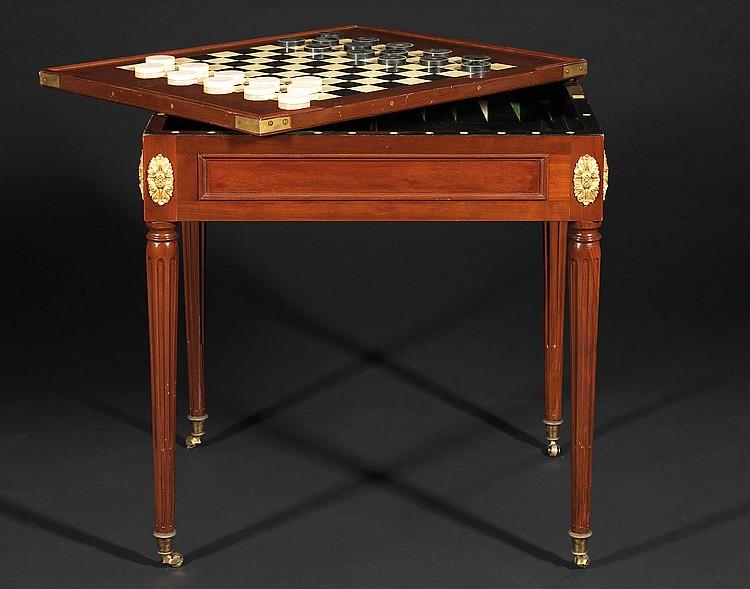 table jeu de trictrac par jean caumont 1736 800. Black Bedroom Furniture Sets. Home Design Ideas