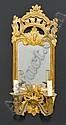 DREI SPIEGELAPPLIKEN, eine Louis XV, Bern, wohl, Johann Friedrich (1706) Funk, Click for value