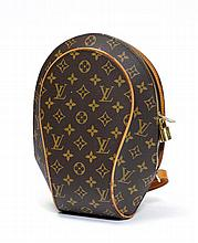 LOUIS VUITTON. SAC A DOS Ellipse en toile enduite
