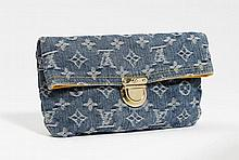 LOUIS VUITTON (P/E 2007). POCHETTE en toile