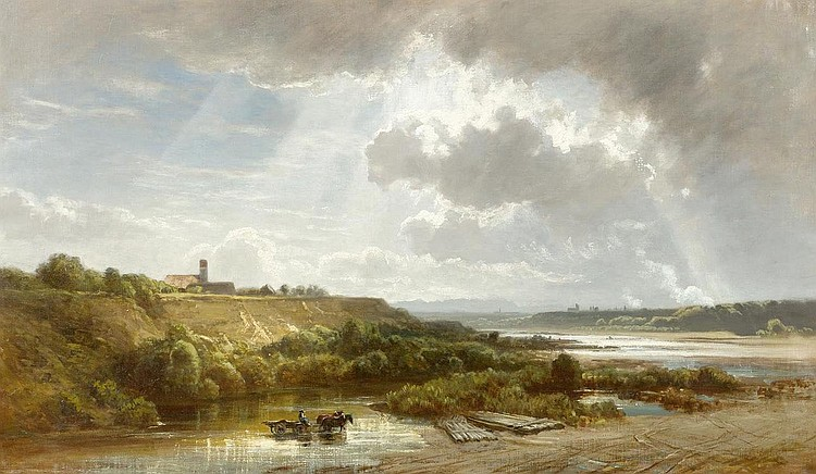 SCHLEICH, EDUARD (Haarbach 1812 - 1874 Munich )
