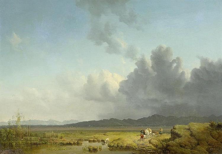 BÜRKEL, HEINRICH (Pirmasens 1802 - 1869 Munich )