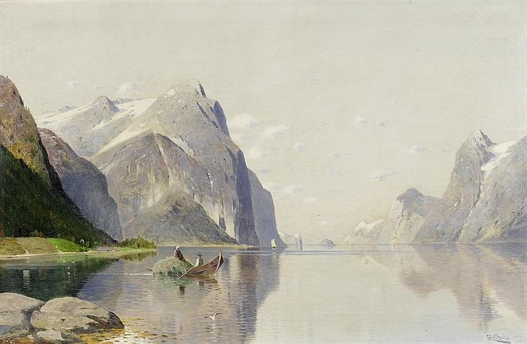 CHWALA, FRITZ (1872 Vienna 1936)Fjord