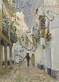 RINK, PAUL(Veghel 1861-1903 Edam)Lane in Seville., Paul Rink, Click for value