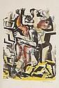 ZADKINE, OSSIP (Smolensk 1890 - 1976 Paris) Dance.
