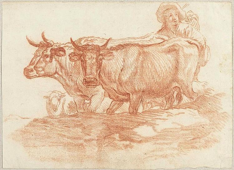 SCHELLENBERG, JOHANN RUDOLPH (Basel 1740 - 1806