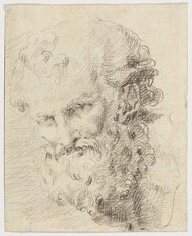 NOVELLI, FRANCESCO (1764 Venice 1836 ) Head of an