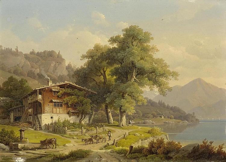 SCHEUCHZER, WILHELM (Zurich 1803 - 1866 Munich )