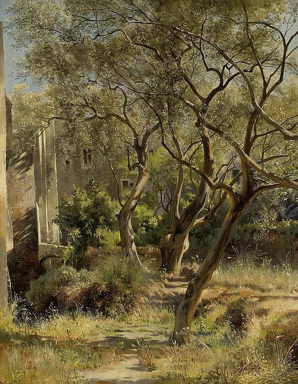 CALAME, JEAN BAPTISTE ARTHUR (1843 Geneva 1919)