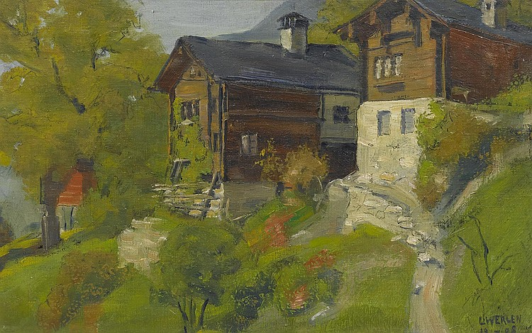 WERLEN, LUDWIG(Gschinen 1884 - before 1961
