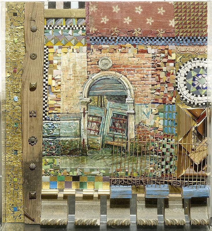 NALL, FRED (1948) 'Venitian back door II'. 1996