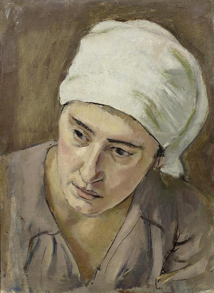 STURZENEGGER, HANS (1875 Zurich 1943). Portrait of
