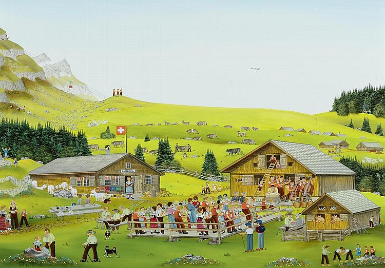 MANSER, ALBERT (born 1927 in Appenzell).
