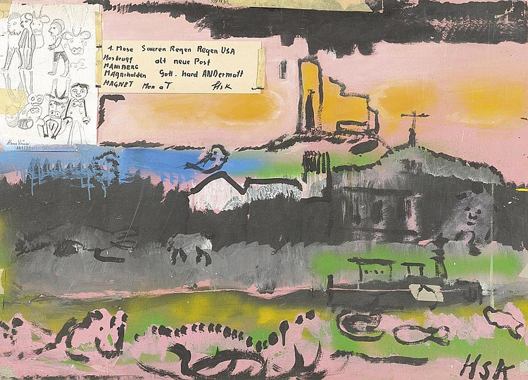 KRÜSI, HANS (Speicher 1920 - 1995 St. Gallen).