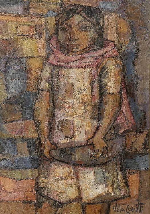 ZANETTI, VELA (Milagros 1913 - 1999 Burgos) The